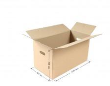 Коробка с ручками средняя